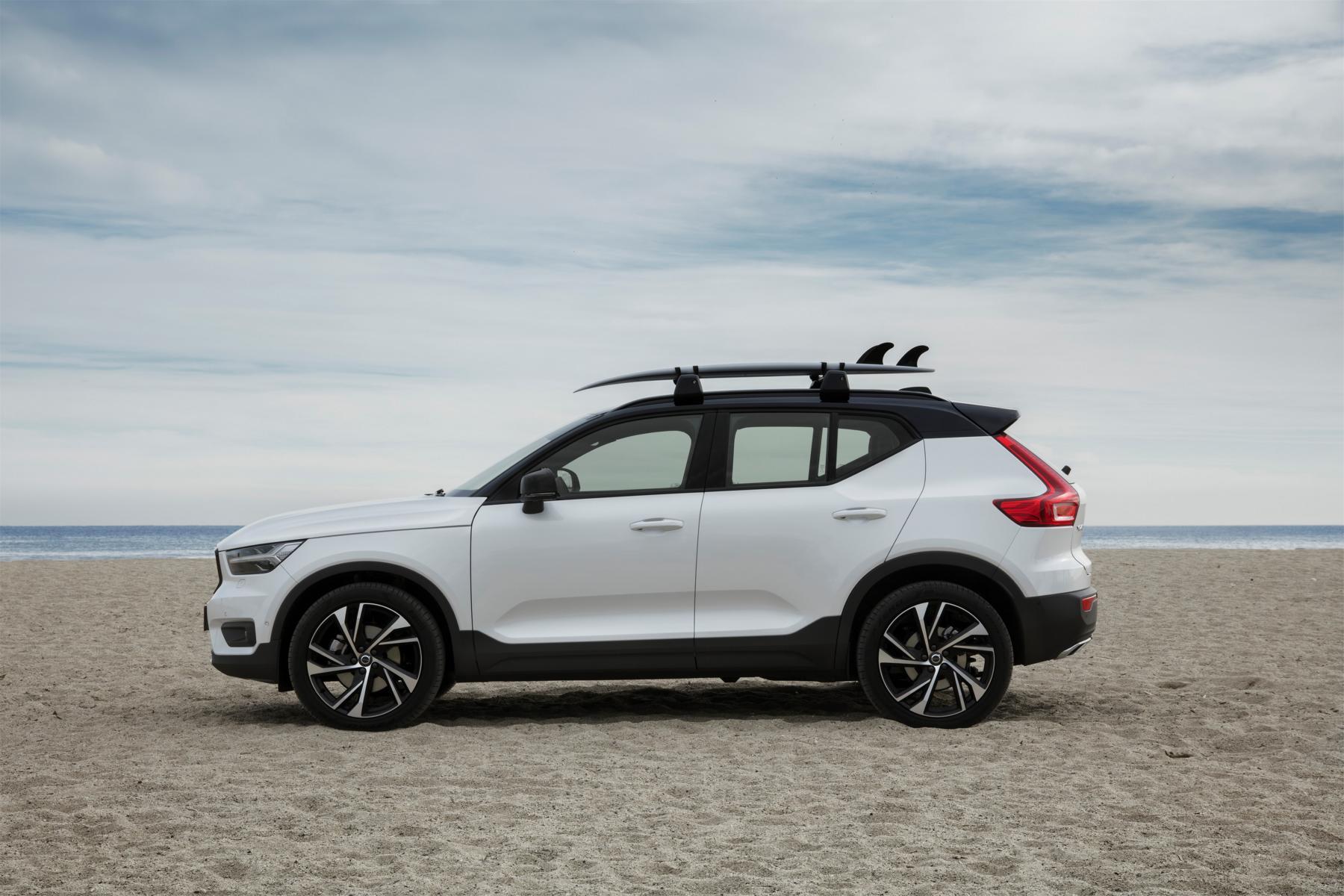 Global großes Interesse an neuem SUV Neuer Volvo XC40 mit